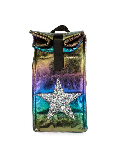 Kid's Iridescent Snack Bag w/ Crystal Star Patch