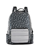 Bari Lynn Girls' Star-Print Backpack