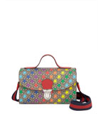 Gucci Kids' Rainbow-Star GG Supreme Top Handle Shoulder