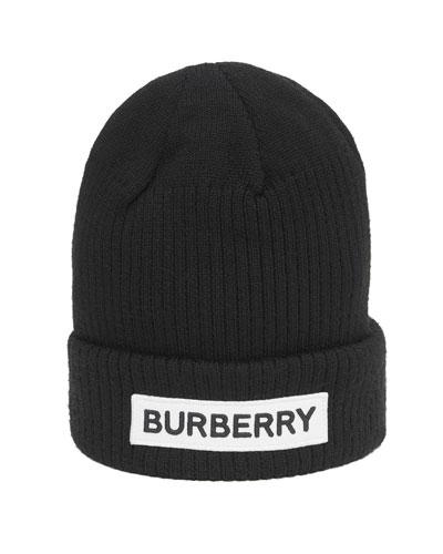 Kid's Logo Merino Wool Beanie Hat