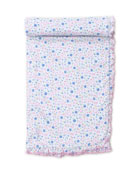 Kissy Kissy Garden Treasure Ruffle-Trim Printed Baby Blanket