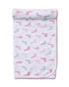 Kissy Kissy Wooly Llamas Pima Baby Blanket