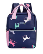 Joules Kid's Horse Print Backpack