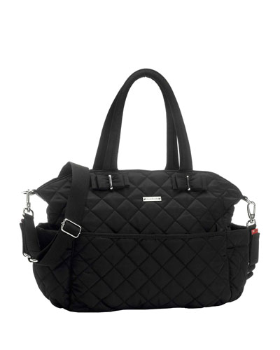Bobby Quilted Nylon Diaper Bag
