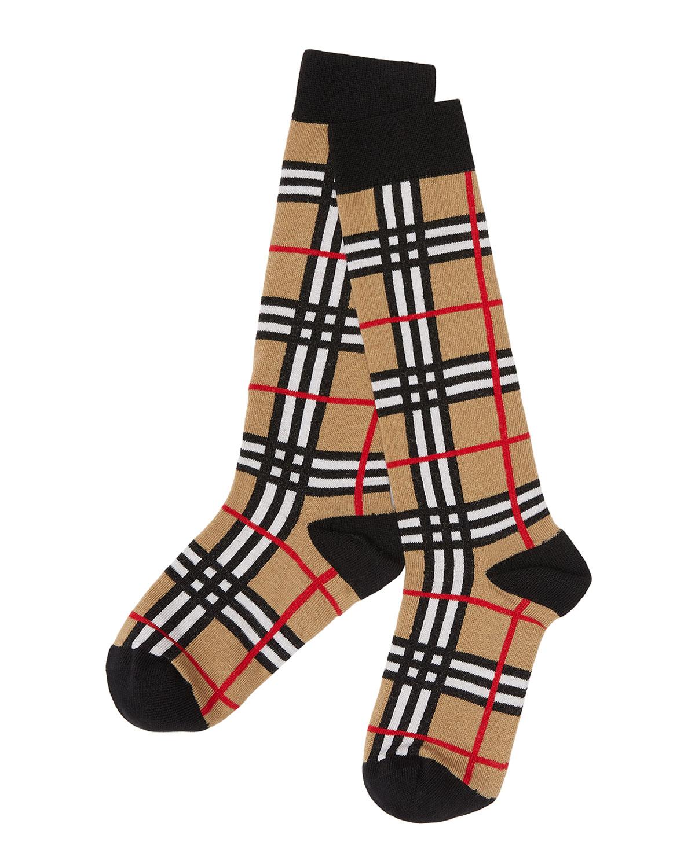 Kid's Check Socks