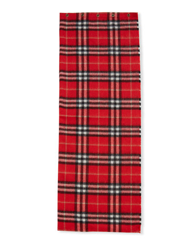 Kid's Vintage Check Cashmere Snood Scarf