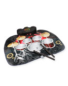 FAO Schwarz Tabletop Toy Drum Set Mat