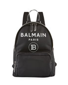 Balmain Kid's Logo Backpack
