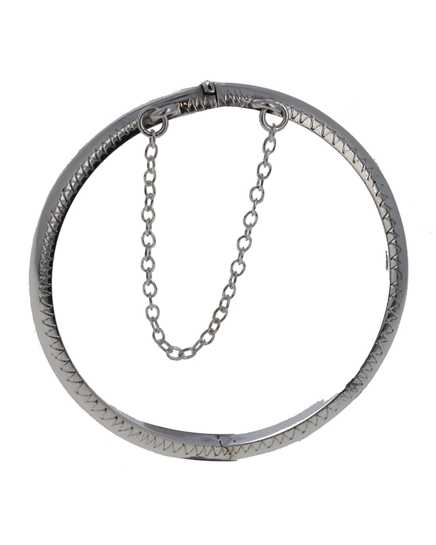 Sterling Baby Bracelet w/ Filigree