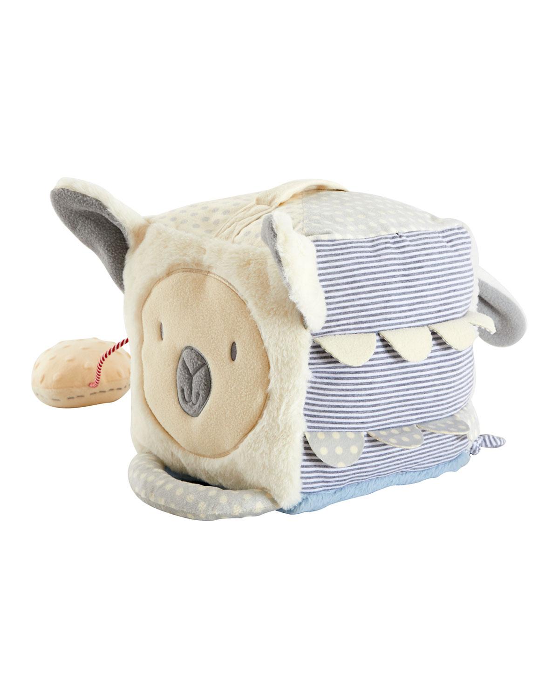 Wonder & Wise Baby Animal Activity Cube