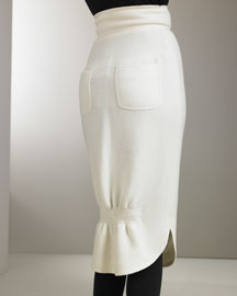 Fendi            Peplum Jacket & High-Waist Skirt-  Neiman Marcus