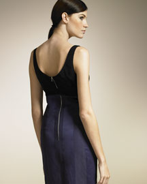 Narciso Rodriguez            Bi-Color Dress-  Evening-Neiman Marcus