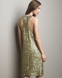 Stella McCartney            Sequined Dress-  Evening-Neiman Marcus