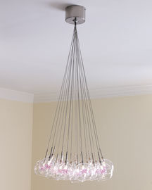 Starburst Cluster Chandelier :  pendant light neiman marcus lighting