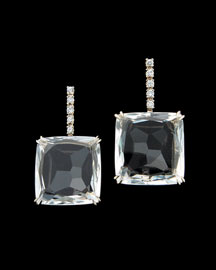 H.Stern Cobblestone Crystal Quartz Drop Earrings -  Earrings -  Neiman Marcus from neimanmarcus.com