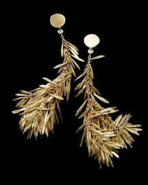 H.Stern Feather Earrings -  Earrings -  Neiman Marcus