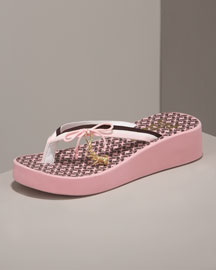 Juicy Couture            Krista Scottie Thong Sandal -   		Shoes - 	Neiman Marcus :  krista red scottie white