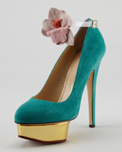 Dolly Removable-Strap Platform Pump