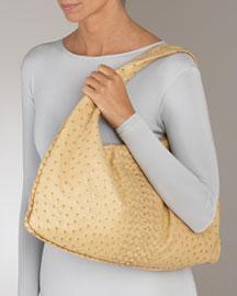 Bottega Veneta Ostrich Woven Hobo -  Bottega Veneta -  Neiman Marcus :  designer bags women womens bags