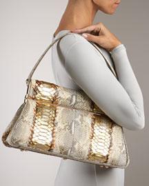 Dior Python Dior Babe Frame Bag- Resort Collection- Neiman Marcus