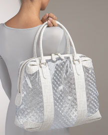Fendi Grande Clear Prism Baulotto - Totes- Neiman Marcus from neimanmarcus.com