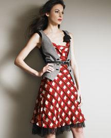 Isletti Vest Over a Dress