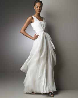 Ruffled Gown- Neiman Marcus