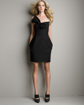 Bow-Knot Bustier Dress -  Neiman Marcus from neimanmarcus.com