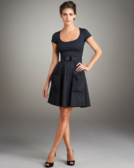 Full Skirt Dress -  Neiman Marcus from neimanmarcus.com