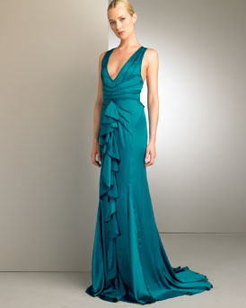 Long Siren Gown -  Neiman Marcus from neimanmarcus.com