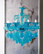 Modern Glamour 8-Light Chandelier