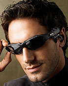 Thump by Oakley (mp3 player and shades in one!)