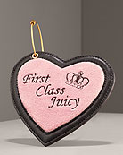 Juicy Couture Heart Luggage Tag