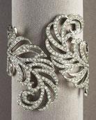 Leaf Hinge Cuff-                              Neiman Marcus :  kenneth jay lane bracelet leaf cuff