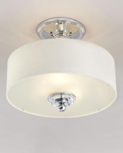Simplistic Semi-Flush Ceiling Fixture