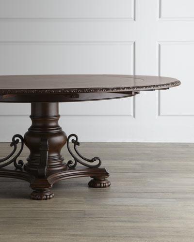 Agatha Pedestal Dining Table