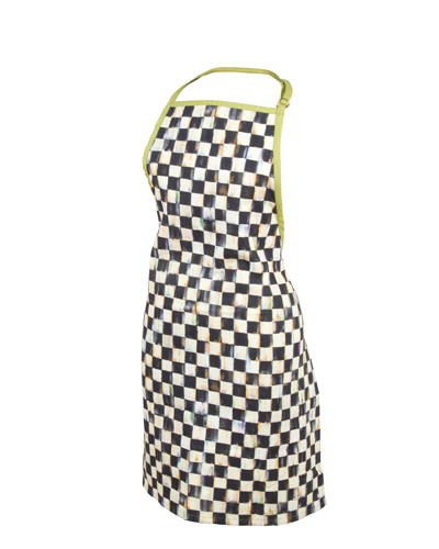 Courtly Check Apron
