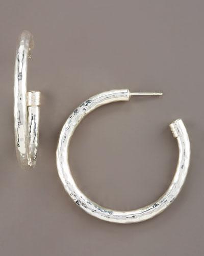 Glamazon Hoop Earrings, Small