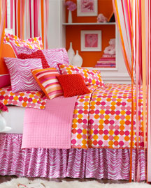 Orange.com Bedding -   		Bedding - 	Neiman Marcus :  polka dot design exclusive designer