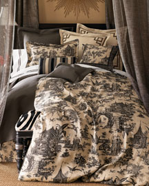 Les Chinois Linens-  Exotic-Neiman Marcus