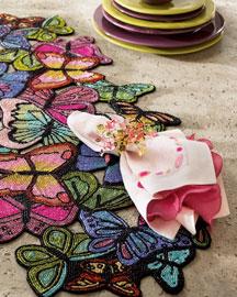 Kim Seybert Butterfly Table Runner- Kim Seybert- Neiman Marcus
