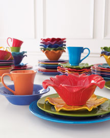 Assorted Bright Dinnerware -  Solid Color -  Neiman Marcus :  dinnerware tableware dining