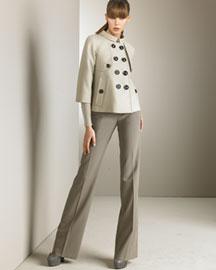 Burberry Beanley Jacket & Classic Pants- Fine Apparel- Neiman Marcus