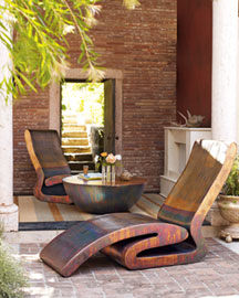 Outdoor Furnishings -   Neiman Marcus :  fashion home furniture designer