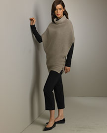 TSE Cashmere Cashmere Cowl Neck Sweater Cropped Pants TSE Cashmere Neiman Marcus from neimanmarcus.com