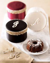 Monogrammed Cake-  Seasonal Gifts-Neiman Marcus :  cake gift idea monogrammed