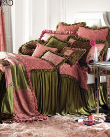 Strawberry Mousse Bed Linens- Neiman Marcus