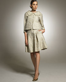 Escada Swing Jacket & Full Skirt -  Fine Apparel -  Neiman Marcus :  jacket apparel designer clothes collection