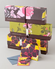 Scented Stationery Sets -   		For Friends & Family - 	Neiman Marcus :  floral stationery home appliance neiman marcus