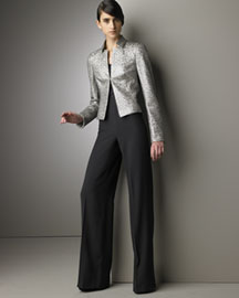 Akris Brocade Jacket & Karla Pants -  Pre-Fall Collections -  Neiman Marcus from neimanmarcus.com